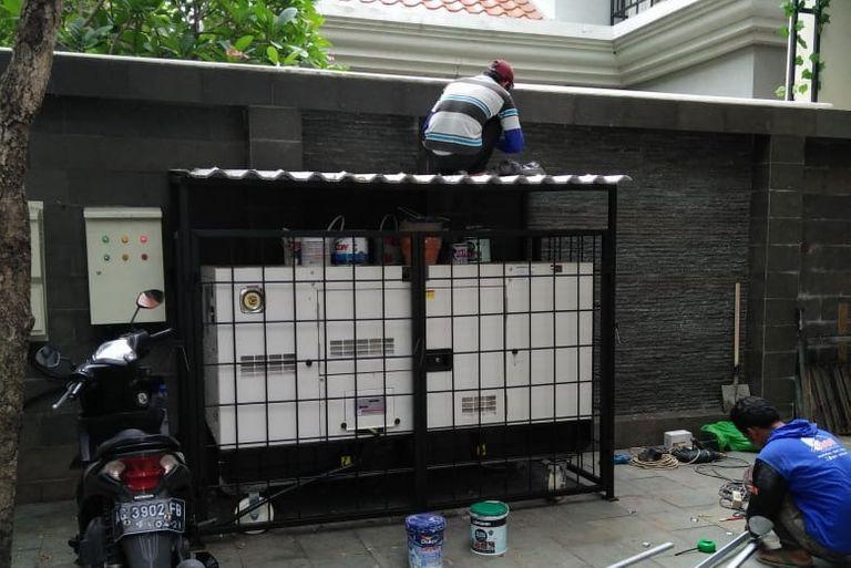 teralis outdoor pelindung nyaman terjamin berkualitas bahan bagus murah surabaya kota metropolis minimalis konsep terbaru terkini besi baja berkualitas