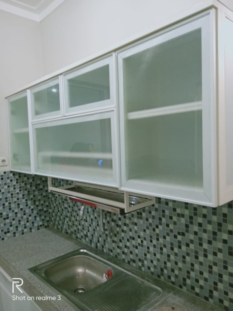 kitchen set kertajaya regency surabaya timur 1